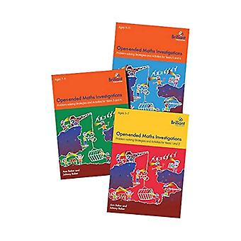 Open-ended Maths Investigations for Primary Schools Series Pack - Math