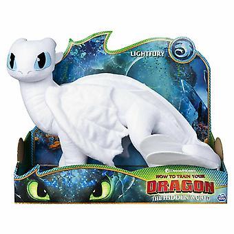 Dreamworks how to train your dragon lightfury plush