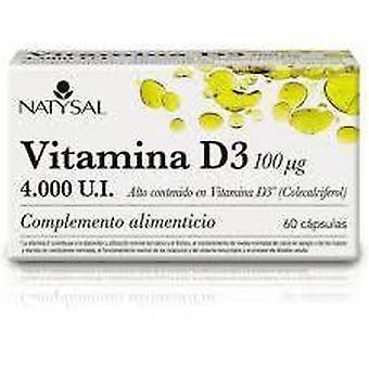 Natysal Vitamin D3 4000 IE 60 Kapseln