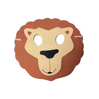 Het leeuwmasker van het kind
