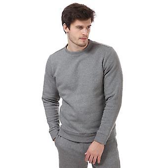 Men's Calvin Klein Logo Collegepaita harmaa