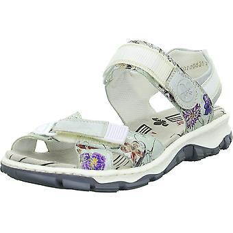 Rieker 6885390 universelle sommer kvinder sko