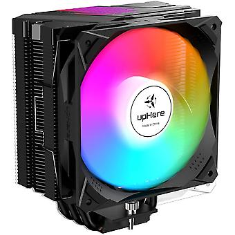 Wokex 5 Heatpipes Sync 5 V 3 Pin ARGB LED 120 mm PWM CPU Kühler CPU Gaming Fan Khler fr Intel &