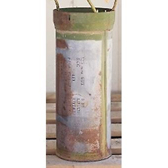 سبورة الرئيسية الهندية العتيقة قطعة معدنية علبة خمر ديكور المنزل