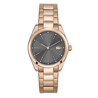 Lacoste 2001177 Women's Petite Parisienne Rose Gold Tone Bracelet Wristwatch