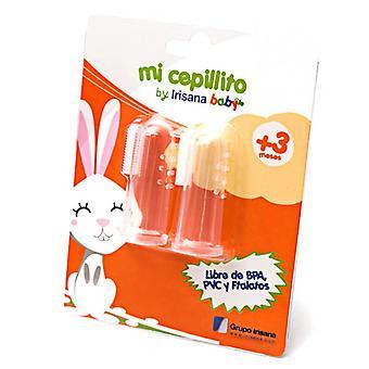 Pinsel Irisana Mi Cepillito Arzt und Zahn Baby Silikon (Refurbished A)