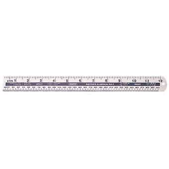 Draper 52191 300mm/12 In Aluminium regel