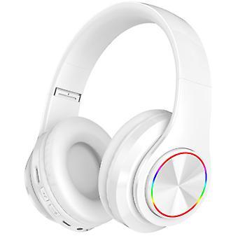 Cuffie wireless LED con auricolari Bluetooth Mic Auricolari pieghevoli Stereo