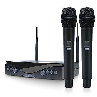 Wireless Microphone System Frequency Adjustable