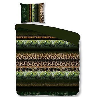 bed cover Tamara 135 x 200 microfiber green