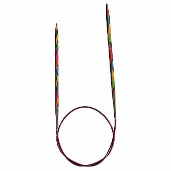 KnitPro Symfonie: دبابيس الحياكة: دائري: ثابت: 25 سم × 4.50 مم