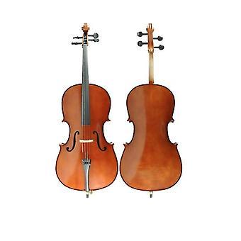 Tamanho de violoncelo 1/4 com caixa e arco – Violoncelo de madeira