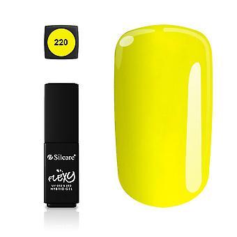 Silcare - Flexy - Hybrid gel - Farve: 220 - 4,5 gram