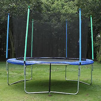 TRIGANO maa-ankkuri asetettu trampoliineille