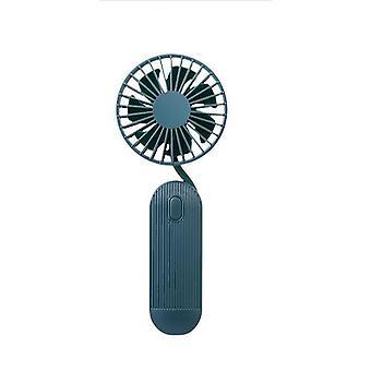 Mini ventilador colgante cuello actualizar recargable portátil de mano usb ventilador