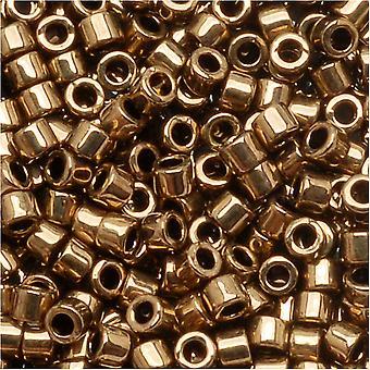 Miyuki Delica Beed Beads, Tamaño 10/0, 8 Gramos, Bronce Metálico DBM0022