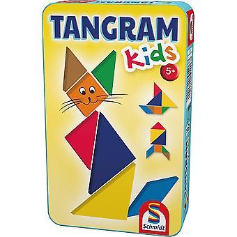 FengChun 51406 51406-Tangram Kinder, bunt