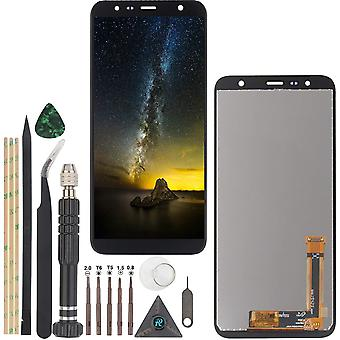 FengChun YWL-OU Display für Samsung Galaxy J6 Plus J610/J4 Plus 2018 J415/J4 Core j410 LCD