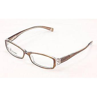 John Galliano Eyeglasses Frame JG5009 045 Light Brown Plastic Italy 53-15-135