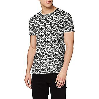 BLEND Tee T-Shirt, White (Offwhite 70005), Large Men's
