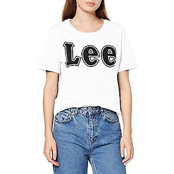Lee Logo Tee T-Shirt, White (White 12), X-Large Woman