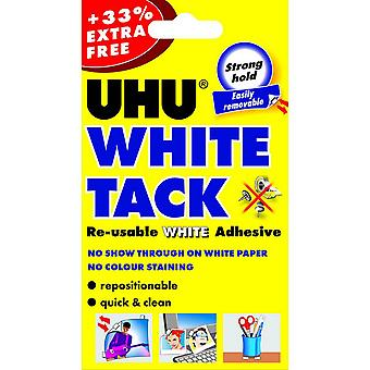 UHU White Tack Re-Usable Adhesives (Pack Of 12)