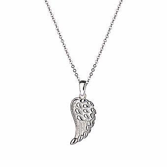 Kalini - Fallen Angel Wing Icons Pendentif - Prolongateur 40cm +3cm - Argent - Cadeaux bijoux pour femmes de Lu Bella