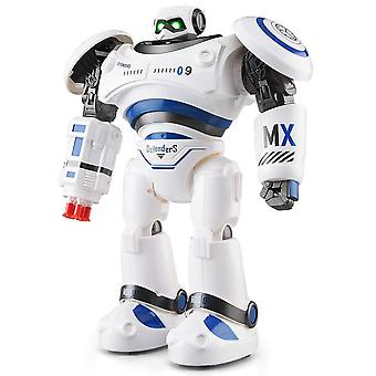 Robot AD Police Files Robot Remote Control Toy for Kids|toys for|rc robottoys for kids(Blue)
