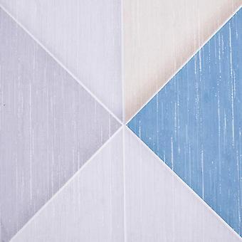 vidaXL Tappeto Stampato Multicolored 80x150 cm Tessuto