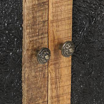 vidaXL Sivulevy 60x35x75 cm Karkea mangopuu
