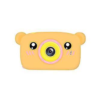 Bear brown portable full-hd 1080p digital mini camera for kids child az947