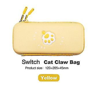 لحقيبة القط لطيف لنينتندو التبديل حقيبة التخزين غطاء القضية لنينتندو التبديل حقيبة (الأصفر) WS16685