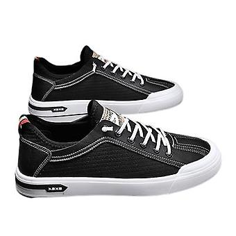 Men's Breathable Sneakers Ice Silk Canvas All-match Casual Shoes