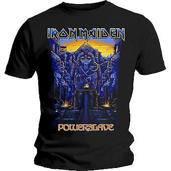 Iron Maiden - Dark Ink Powerslaves Heren X-Large T-Shirt - Zwart