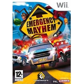 Awaryjne Mayhem Gra Wii