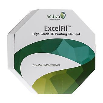 Voltivo ExcelFil - High grade 3D Printing Filament - ABS -3mm - Orange