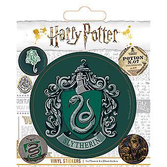 Harry Potter - Slytherin Vinyl klistremerke