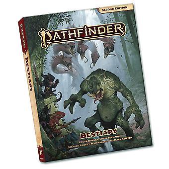 Pathfinder Bestiary Pocket Edition (P2) by Paizo Staff (Paperback, 2021)