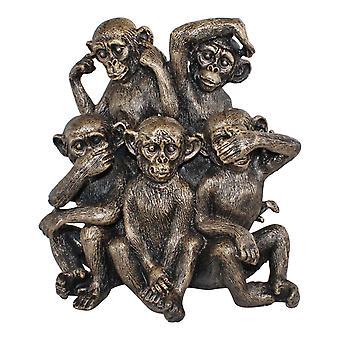 Viisi apinan koristetta