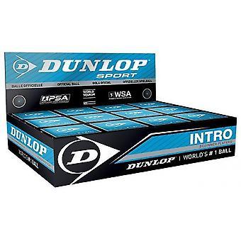 Dunlop Intro Squash Balls 1 Scatola di palla 12