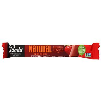 Panda Licorice Bar Strawberry, Case of 36 X 1.1 Oz