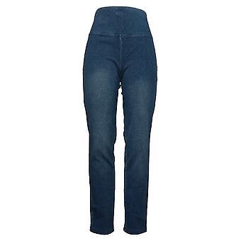 Kvinder med kontrol Kvinders Jeans Mave Control Denim Blue A294267