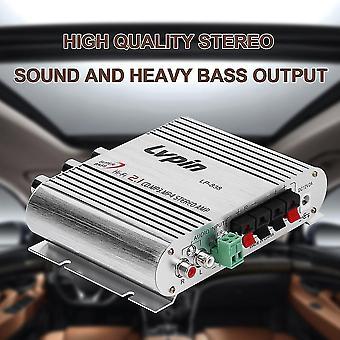20w 12v Mini Hi-fi Versterker Booster Radio Mp3 Stereo voor auto motorfiets Home