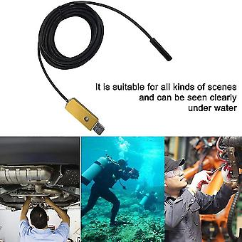 2in1 Taking Photo Available Led Lamp Adjustable 5.5mm Lens Usb Endoscope