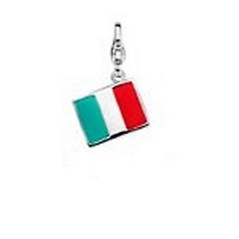 Woman's charm link Ti Sento 8304IT (1 cm) Red Green Silver (1 cm)