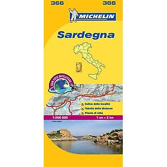 Sardinia  Michelin Local Map 366