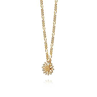 Daisy English Daisy 18ct Gold Plate Necklace N2002_GP