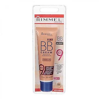 Rimmel Bb Radiance Cream 9 In 1 Spf 15 - 002 Medium - 30 Ml
