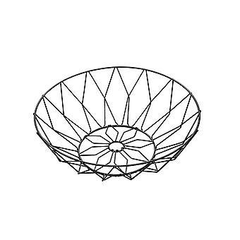 Nordic minimalist fruit basket European living room fruit tray household iron art fruit bowl snack