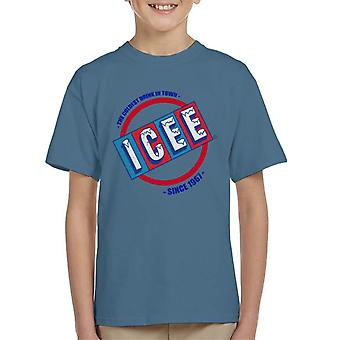 ICEE Coldest Drink In Town Since 1961 Kid's T-Shirt